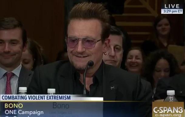 Боно з U2 радить боротися з ІДІЛ жартами