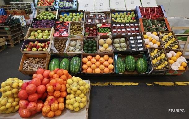 У Росії ціни на овочі та фрукти вперше знизилися
