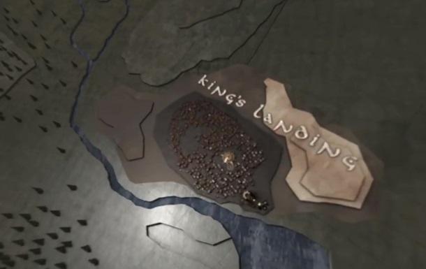Титри  Гри престолів  перетворили в 360-градусне відео