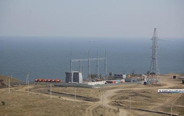 Росія запустила третю нитку енергомоста в Крим