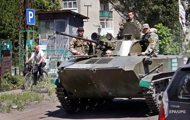Під Докучаєвськом воєнні підбили БМП сепаратистів - штаб
