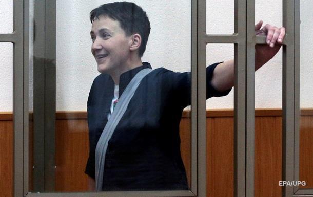 Савченко погодилася на крапельниці до 20 квітня