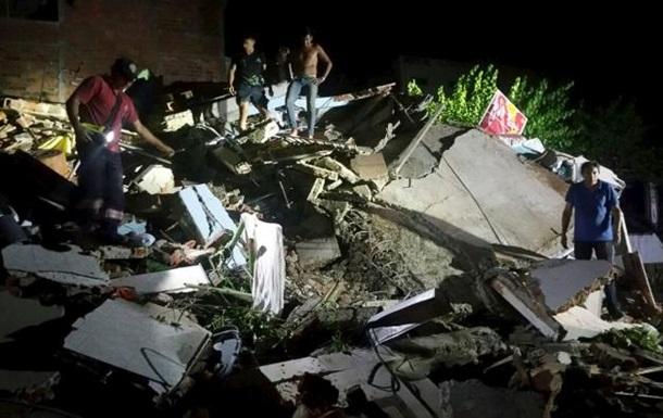 Землетрус в Еквадорі: вже понад 70 загиблих