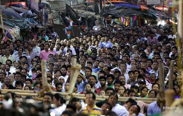 В Индии за беспорядки задержаны полторы тысячи человек