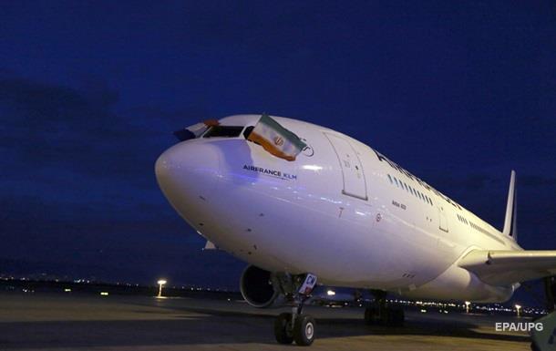 Air France відновила авіарейси Париж-Тегеран