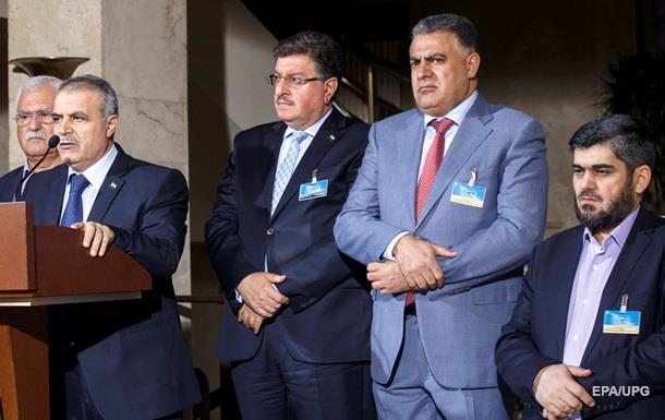 Сирійська опозиція погрожує вийти з переговорів