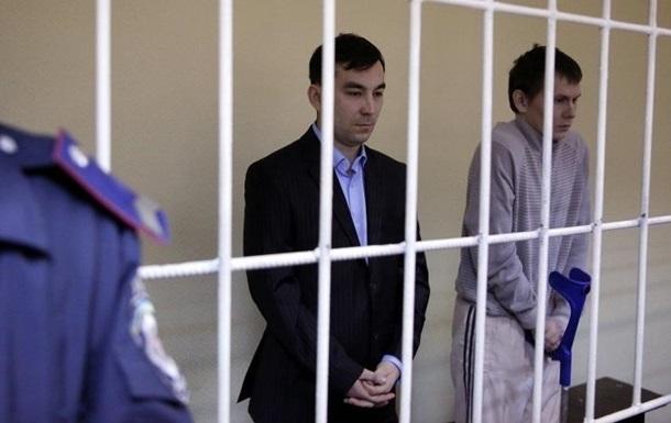 ГРУвців привезли до суду для оголошення вироку