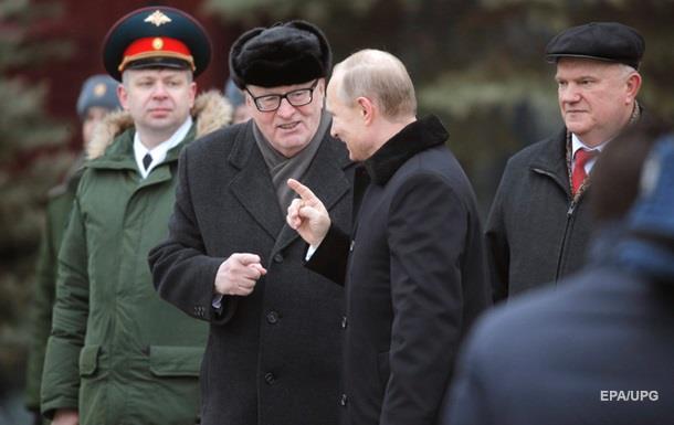 Путін дав Жириновському орден  За заслуги перед Вітчизною