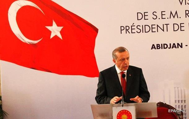 Ердоган назвав нищівною резолюцію ЄС щодо Туреччини