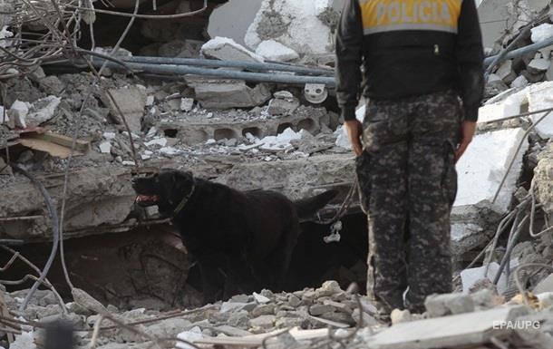 Число жертв землетрясения в Эквадоре выросло до 507 человек
