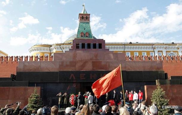 Росіяни хочуть поховати тіло Леніна - опитування