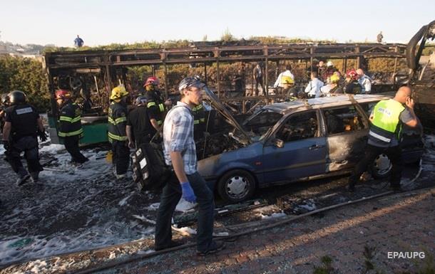 ХАМАС узяв на себе відповідальність за вибух автобуса в Єрусалимі