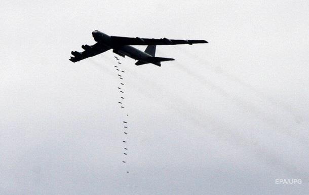США вперше застосували стратегічні бомбардувальники проти ІД
