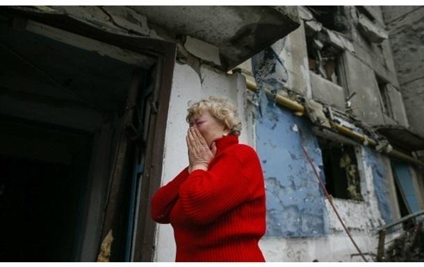 На Донеччині під час обстрілу постраждала жінка