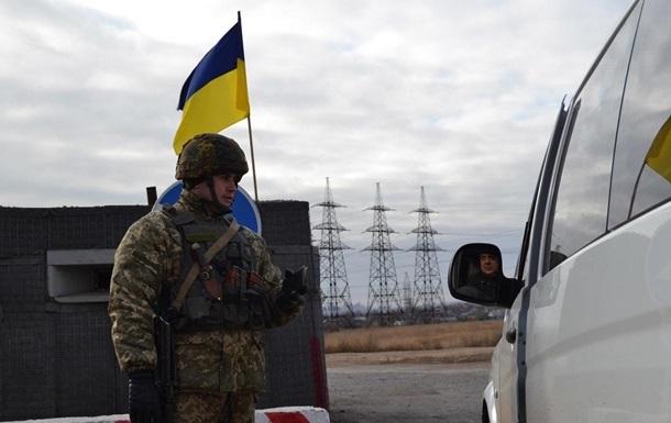 На КПП в Донбассе очереди из тысячи авто