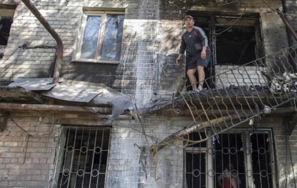 Обстрел Правдовки на Донетчине: разрушена церковь