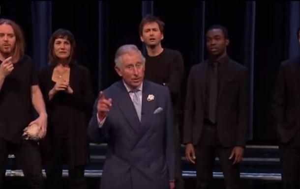 Принц Чарльз і Камбербетч зіграли в скетчі за  Гамлетом