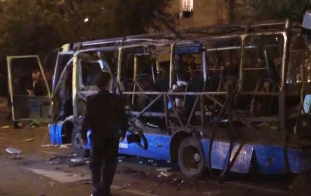 Причиной взрыва автобуса в Ереване стала бомба