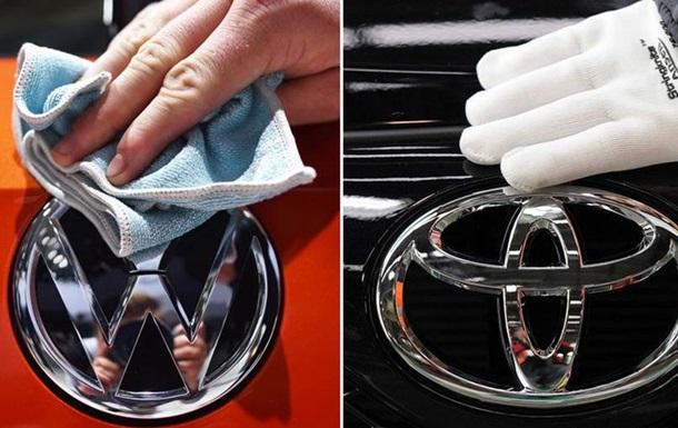 Volkswagen обійшов Toyota за обсягами продажів автомобілів