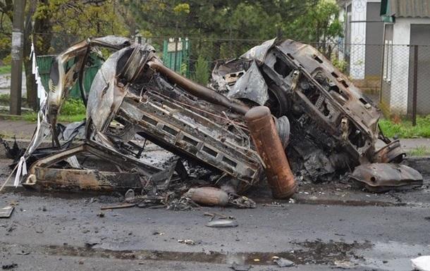 ОБСЄ: Оленівку обстріляли із заходу