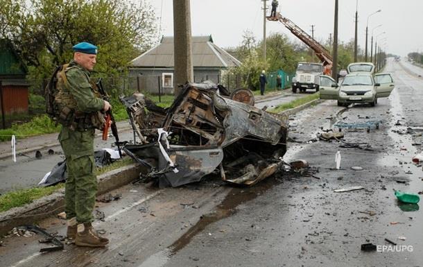 РНБО назвала обстріл під Оленівкою провокацією