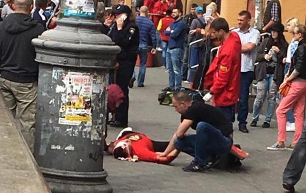 У центрі Києва стріляли, є поранений