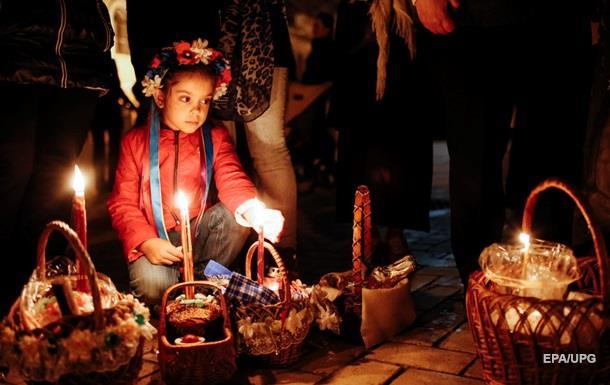 Православные христиане отмечают Пасху