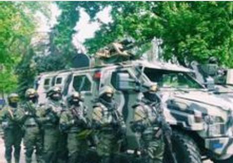 Спецы СБУ с техникой и вооружением будет следить за порядком в Одессе на майские