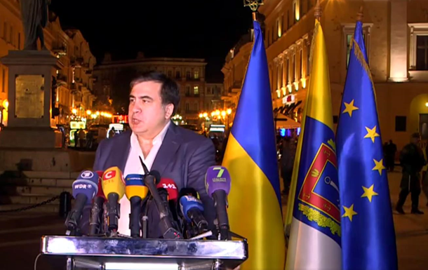 Владі вдалося запобігти провокаціям в Одесі - Саакашвілі