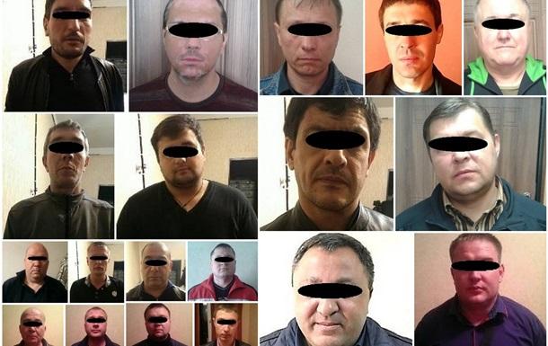 У Дніпропетровську затримали 12  злодіїв в законі