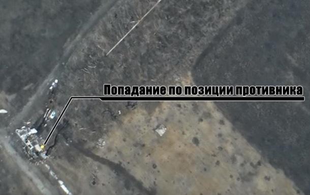 Волонтери показали знищення позицій ДНР в аеропорту Донецька