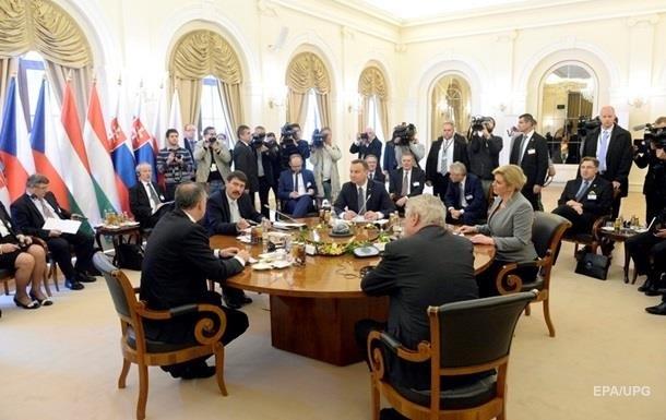 Глави МЗС Вишеградської четвірки відвідають Київ