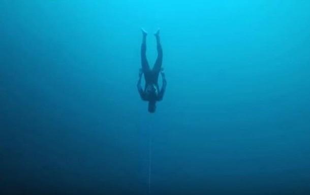 Новий рекорд: фрідайвер опустився на 122 метри