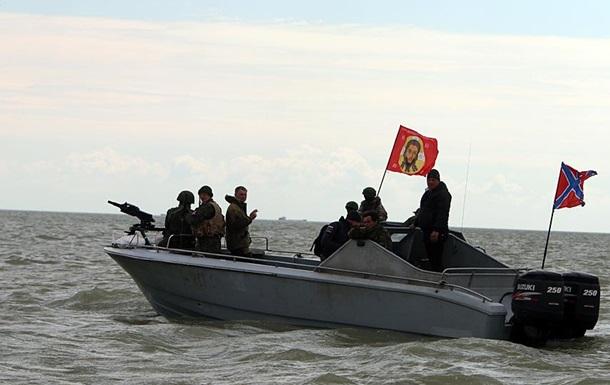 Прикордонна служба повідомила про навчання ДНР в Азовському морі