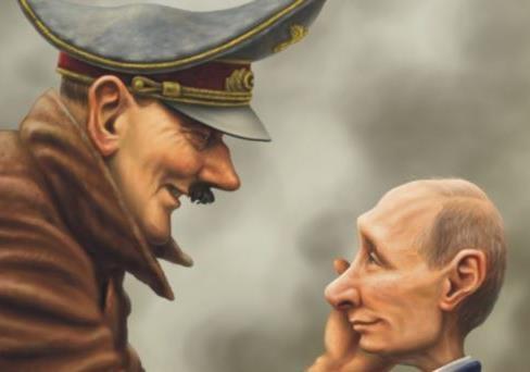 Путин vs Гитлер