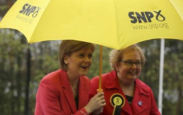 Шотландські націоналісти втретє поспіль виграли вибори до місцевого парламенту
