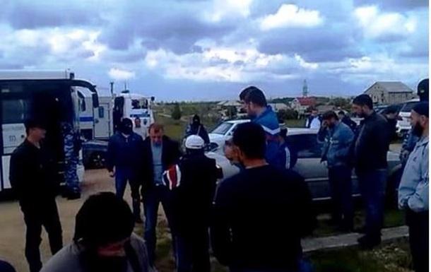 Задержания мусульман в Крыму