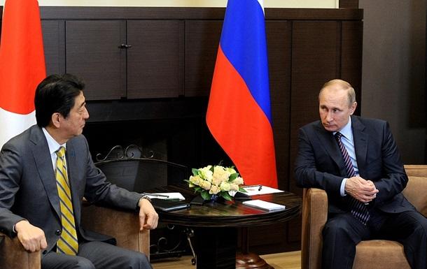 Путін розповів Абе, у що впирається виконання мінських домовленостей