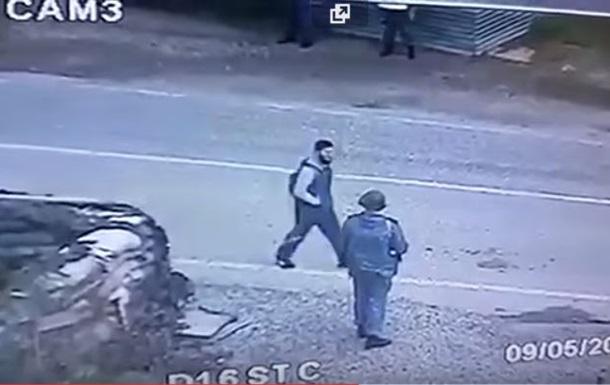 Появилось видео самоподрыва смертника в Грозном