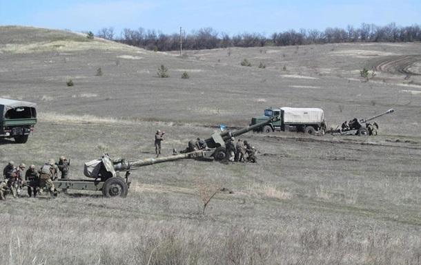 Обстрелы на Донбассе усиливаются после затишья