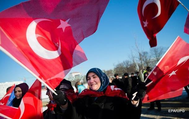 ЄС заморозив угоду про скасування віз для Туреччини