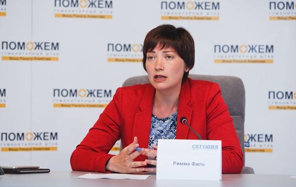 Пункти видачі гуманітарних наборів на Донбасі під загрозою закриття