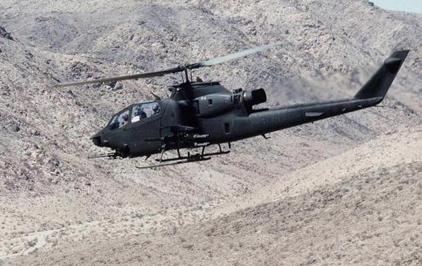 В Турции разбился военный вертолет, экипаж погиб