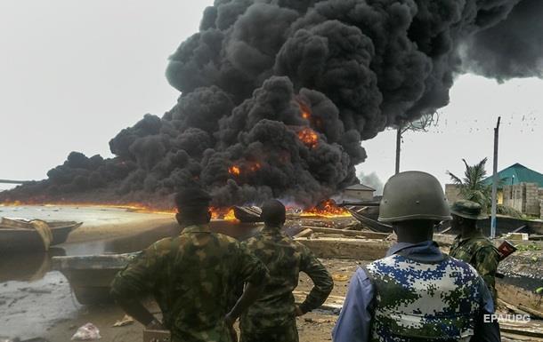В Нигерии взорвали нефтескважину компании Chevron