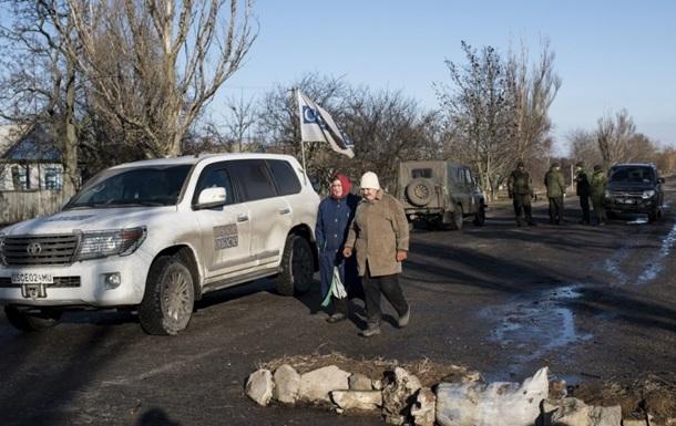 В ЛНР не пустили ОБСЄ до російського кордону