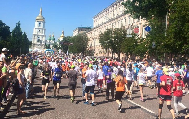 Центр Киева перекроют из-за марафона
