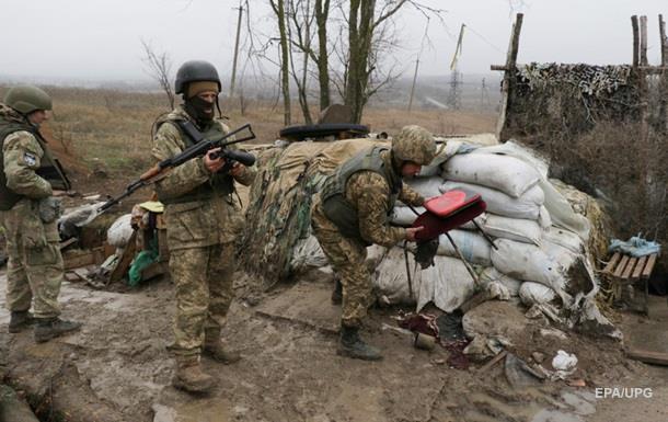 Два бойца ранены под Авдеевкой - штаб