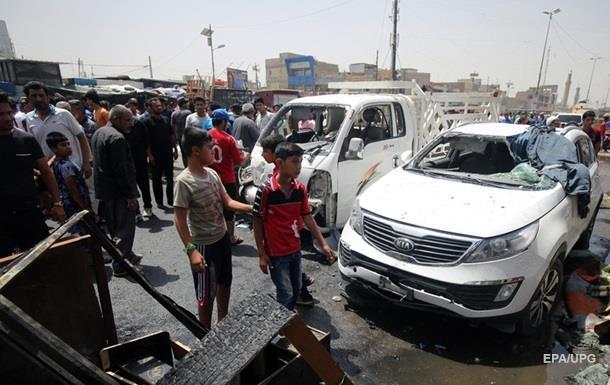 Серія терактів в Багдаді: загинули 72 людини