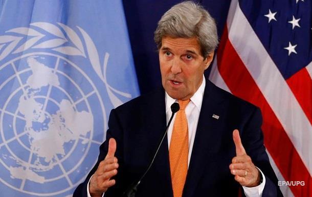 Керрі: Асад порушив резолюцію ООН про перемир я