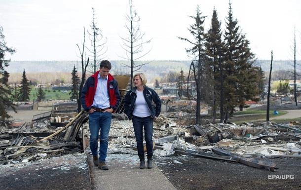 Пожежі в Канаді: евакуюють ще вісім тисяч людей